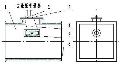 圆形管道安装简图